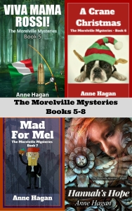 The Morelville Mysteries: Books 5-8