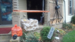 Haunted House Entry Area