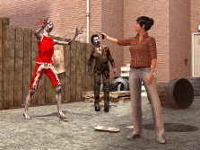 Lesbian Zombie Killer