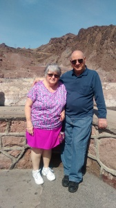 Mom and Dad at Hoover Dam 031516