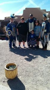 Native American Dancers and Drummers
