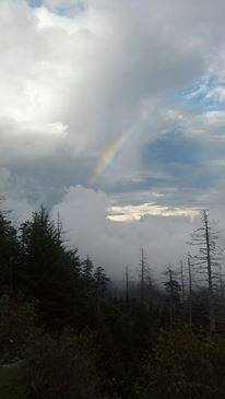 Rainbow in the Smoky Mountains